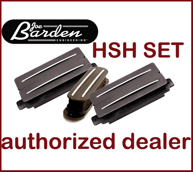 Jbe  Barden  Hsh 3 Pickup Set 2 Two  Tone Hb   1 S