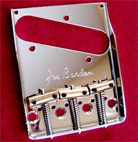 Joe Barden American Standard Telecaster Bridge  w/ Compensated Saddles