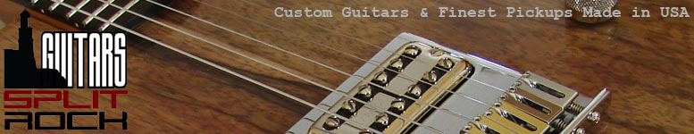 SplitRock Guitars & Joe Barden Pickups
